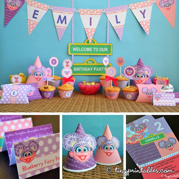 Abby Cadabby Party Decorations