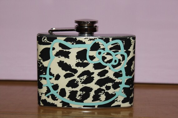 Hello Kitty cheetah flask 2