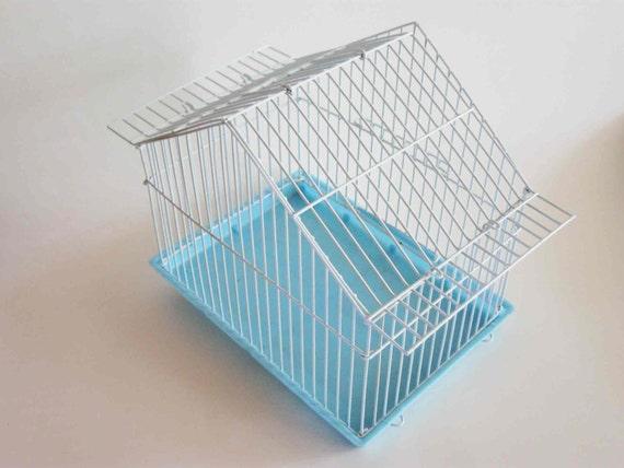 Tiny Blue Birdcage