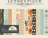 MOVING SALE! Extra 10% off clearance prices! Authentique Gathering Collection 6x6 Paper Pad 36 Double Sided Sheets