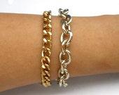 14K Gold Plated Stacking Bracelets - Lila