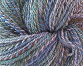 RESERVED for LVRIEND- Hand-spun yarn: Wood Violets