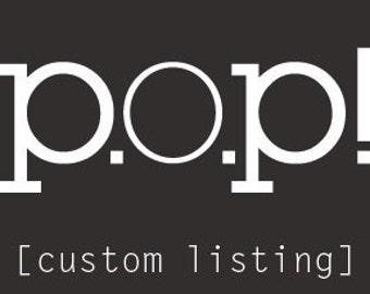 custom listing for a.c.