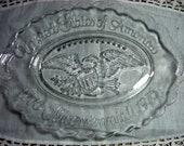 Vintage Plate, Avon,  Bicentennial,  Eagle, 1976, Collectible, Avon Plate