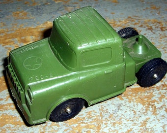 Vintage Toys, Green, Army Truck, Plastic, USA 780 S, Toy Truck
