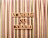 8x10, say it with words, scrabble, artist, fine art photography, home decor