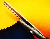 Scalloping Shears - Lace shear - Scissors - Lace Scissors - Cloth Scissors - Roundness Edge