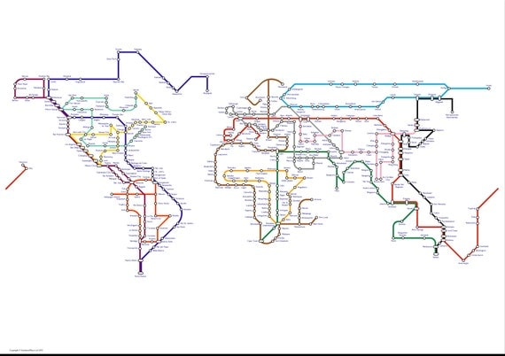 World subway maps my blog updated gumiabroncs Gallery