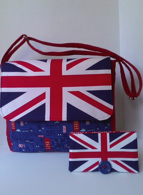 London Messenger Bag-Cool Britannia Ready To Ship