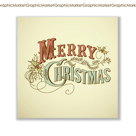 Items similar to christmas hand drawn cards digital