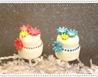 Wedding Cake Cake Pops