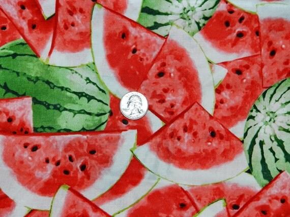 LAST PIECE Watermelon - 10 inches x 23 inches