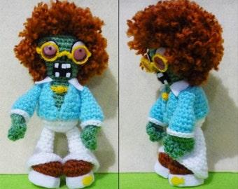 Crochet New Dancing Zombie Amigurumi- Finish Doll