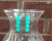 Turquoise Beaded Earrings