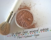 Medium - Full Coverage - Mineral Makeup - Foundation - Bath and Beauty - Pure Natural Cosmetics - Vegan
