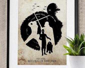 Star Wars Episode VI: Return of the Jedi Movie Poster Print