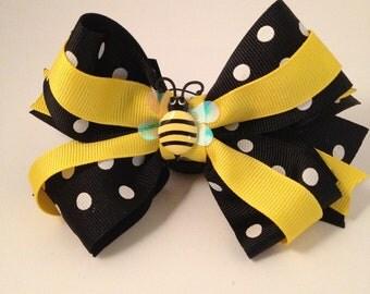 Bumblebee Hairbow