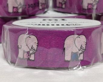 Japanese Washi Tape Masking Tape Deco Tape Paper Tape Elephant