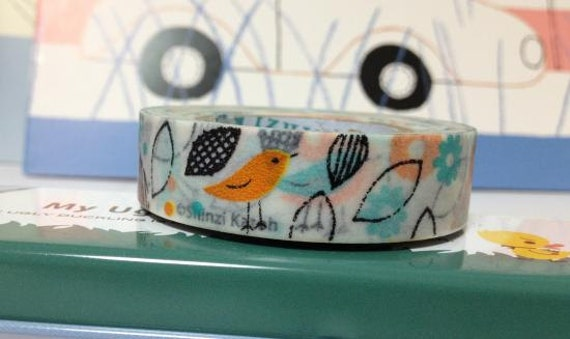 Masking Deco Tape Paper Tape  Colorful birds