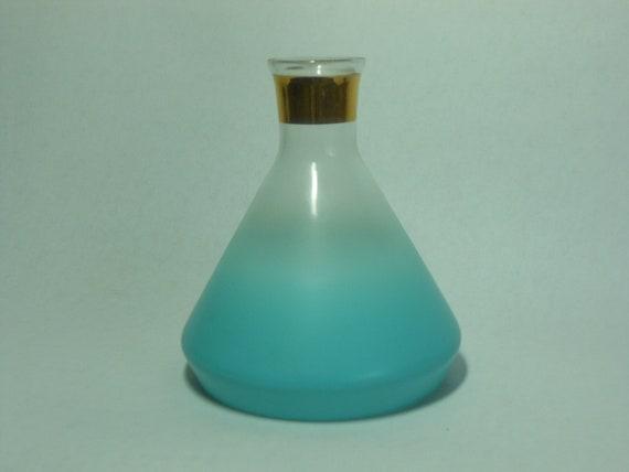 Blendo glassware, rare, turquoise  decanter