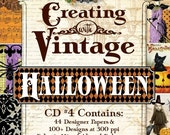 CD4 Creating with Vintage HALLOWEEN
