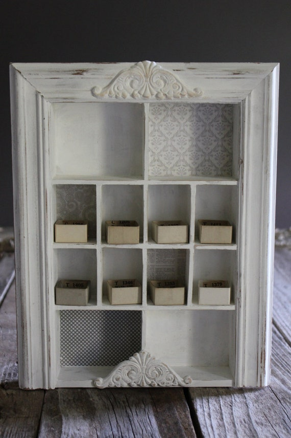 White  Wooden 1:6 Scale Display/Storage Unit for Dolls