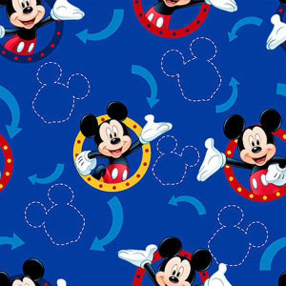 On Sale 3 Days Only!!!!Make to Order Adult or Teen  Speciality Mickey Mouse Fleece Throw Tie No Sew Blanket