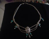 Tribal India Middle East 800 Silver Festoon Necklace
