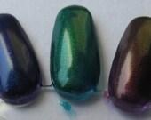 Dragon Scales Phoenix Feathers Unicorn Tears Duochrome Color Shifting Nail Polish Trio Custom Nail Polish 5mL each