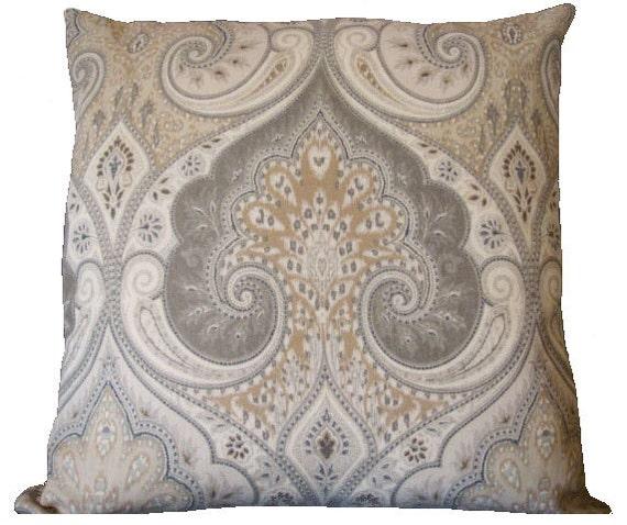 Kravet 20x20 Latika, Pillow cover,sofa pillow,throw pillow,lightgrey,grey,brown,taupe,white