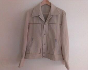 70s seventies men polyester jacket