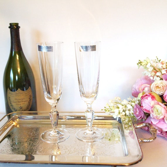 Vintage villeroy and boch crystal champagne by houseoflucien for Villeroy boch crystal