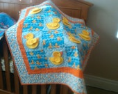 Just Ducky 3D Baby Quilt