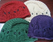 Cabled Owl Hat