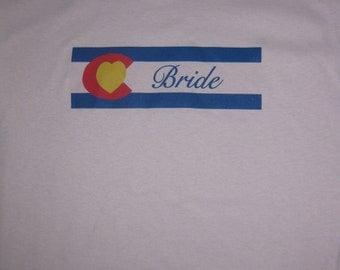 Colorado Bride T-shirt