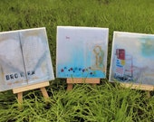 Handmade Coasters - Original Art - Group 4 - Create a Set of 4