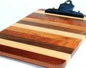 Mixed Wood Clipboard