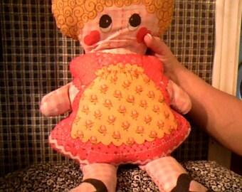 1970S pillow doll