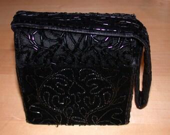 ON SALE  Vintage Formal Beaded Box Purse by Warren