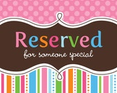 Reserve order for Angie