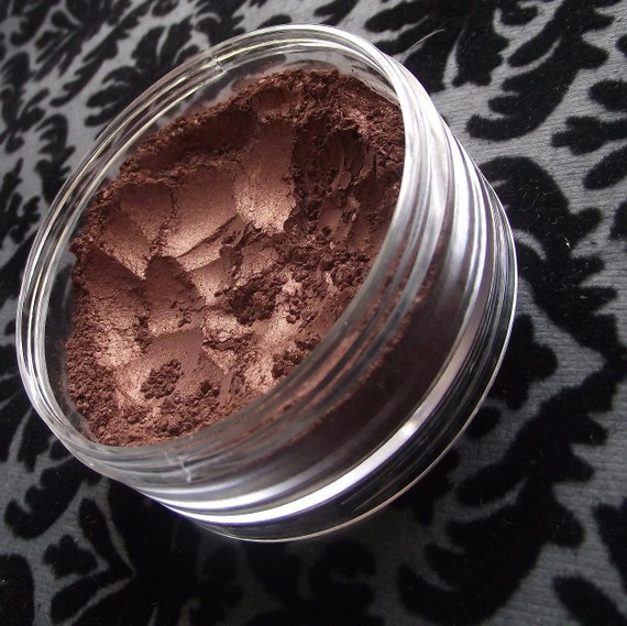 Gunslinger Metallic Dark Copper Eyeshadow Organic Vegan