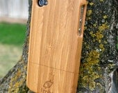 Iphone Case Handmade Quality Wood Wooden Bamboo 4 4s Cover FREE SHIPPING in the US
