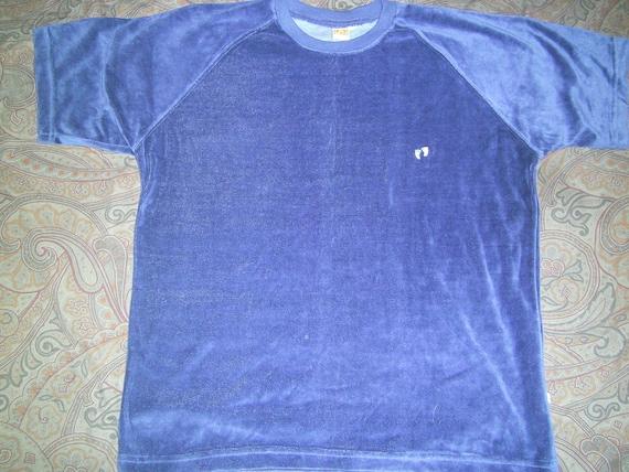 VINTAGE Hang Ten Blue Shirt LARGE