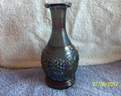 Imperial Glass Company Carnival Glass Fluted Vase   Reserved