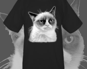 Grumpy Cat men's tee (no text)