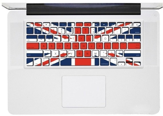 Macbook Keyboard Decal -- Macbook Pro Keyboard Decal Stickers Macbook Air Sticker Decals Vinyl Cover Skin for Apple Laptop