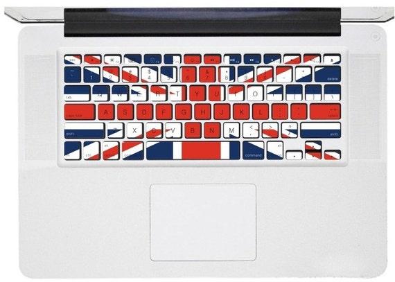 Macbook Keyboard Decal -- Macbook Pro Keyboard Decal Stickers Macbook Air Sticker Decals Vinyl Cover Skin for Apple Laptop