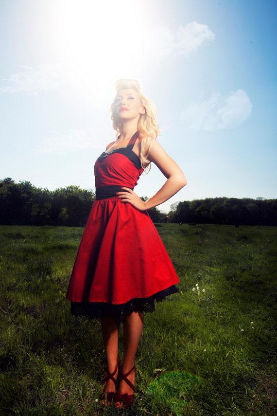 Bridesmaids perfect corset dress/ Plus size corset dress/ Rockabilly bridesmaid custom made dresses