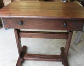 Walnut Writing Desk , ( Reserved)