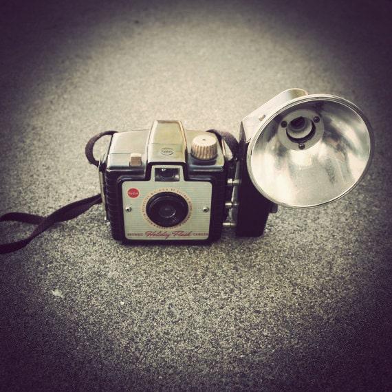SALE /// Kodak Brownie Holiday Flash